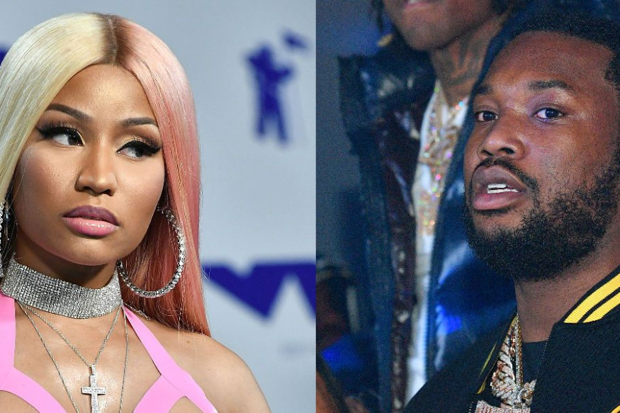 Meek Mill Accused Of Staring Down Nicki Minaj & Husband Before Verbal Fight Broke Out (With video)