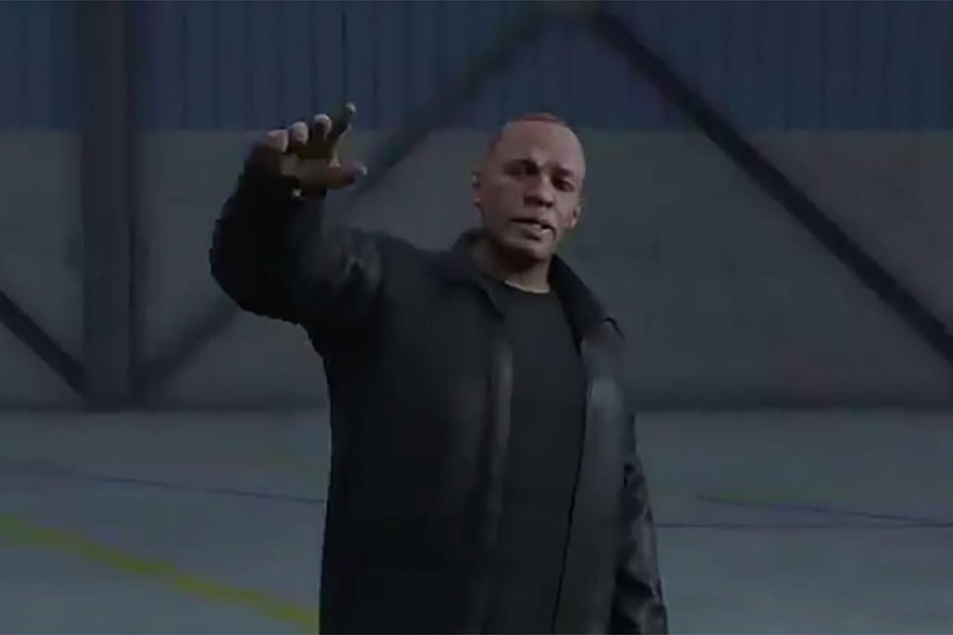 Dr. Dre Surprise Appearance On Grand Theft Auto V